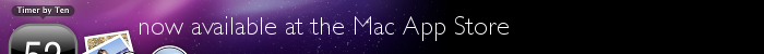 Timer in the Mac App Store
